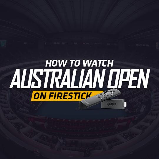 Australian Open On Firestick
