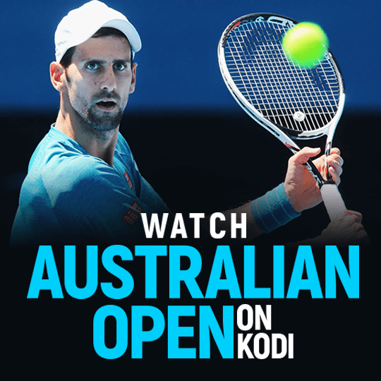 Australian Open On Kodi