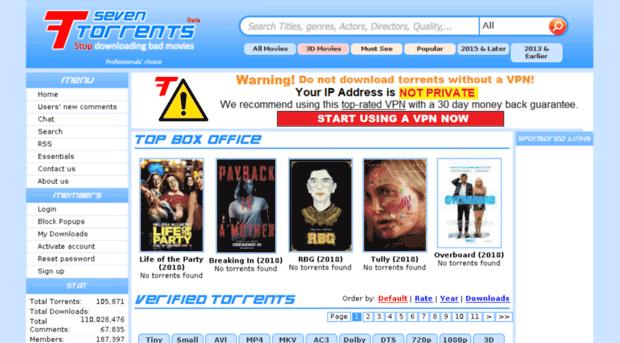 7tor - Kickass Torrents Alternatives