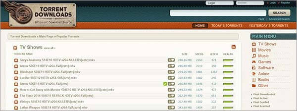 TorrentDownloads - Kickass Torrents Alternatives