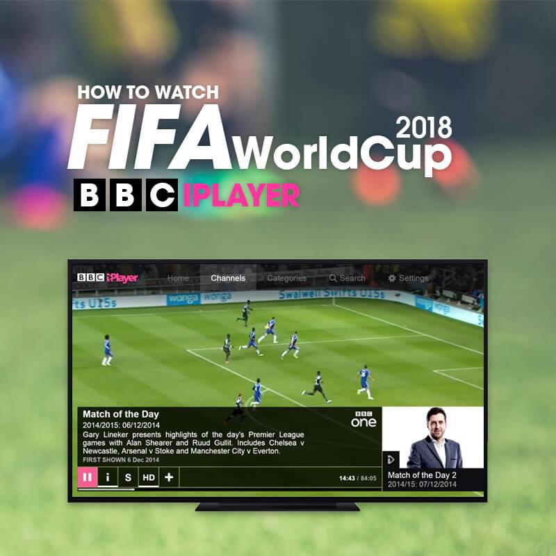FIFA World Cup 2018 on BBC iPlayer