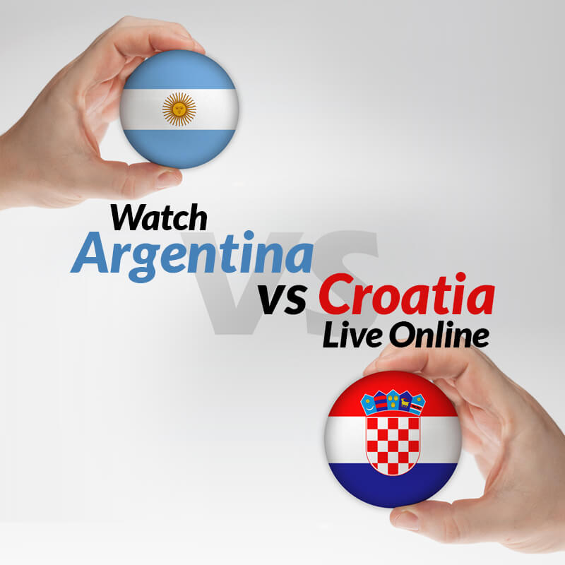 argentina vs croatia live streaming