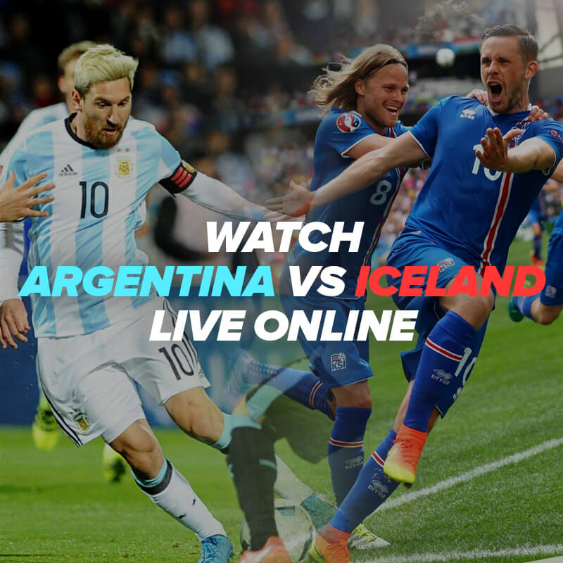 argentina vs iceland live streaming