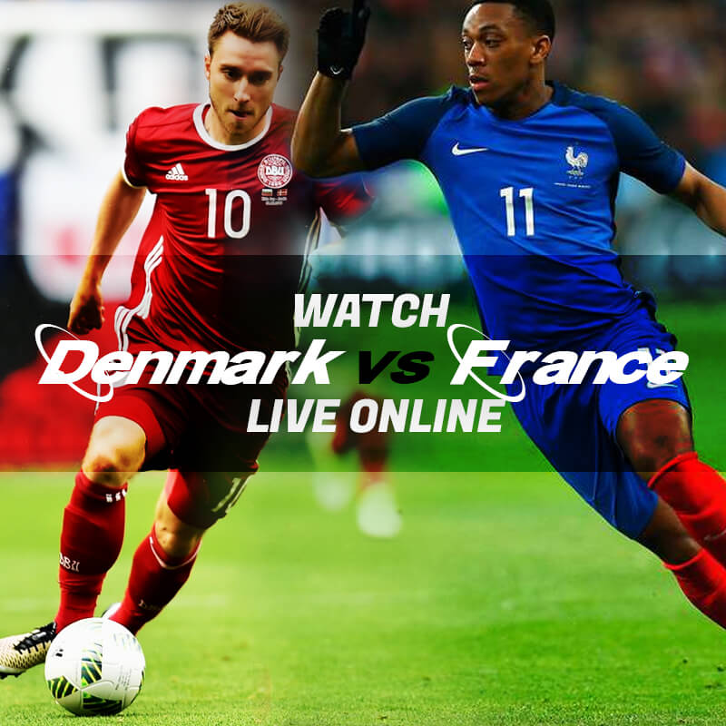 denmark vs france live streaming