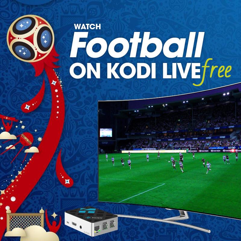 watch football on kodi