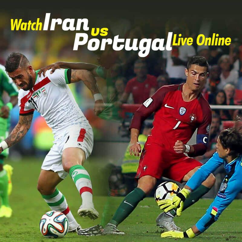iran vs portugal live streaming