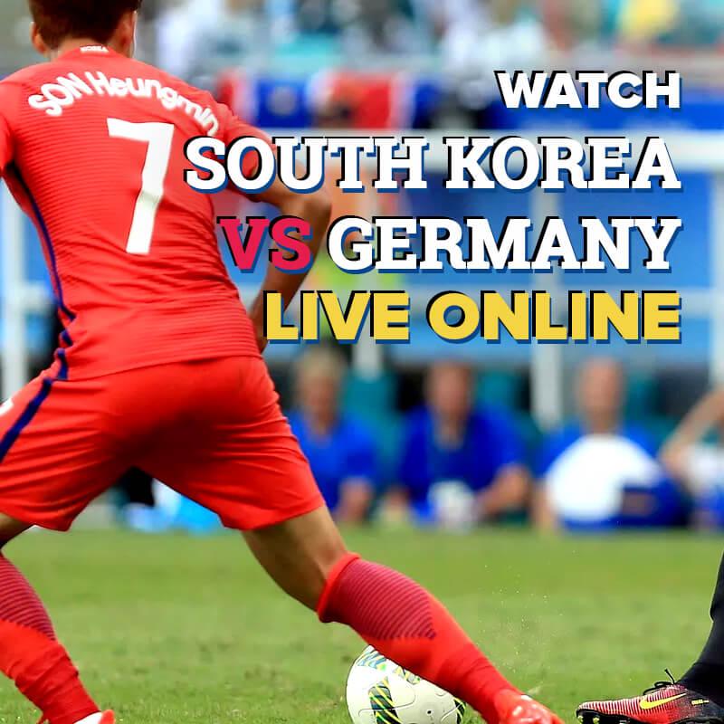 south korea vs germany live streaming