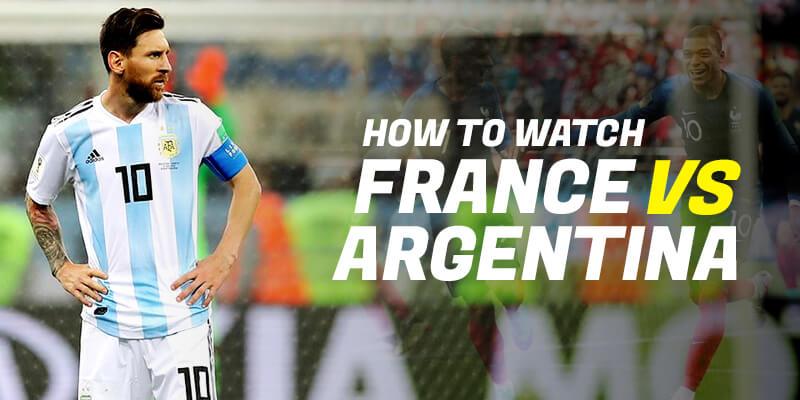 watch france vs argentina live online