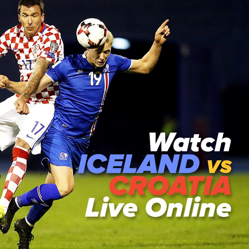 Iceland vs Croatia Live Streaming