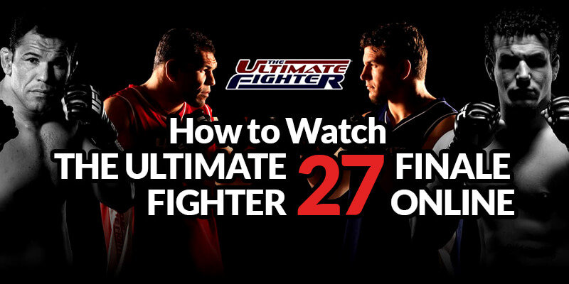 watch ultimate fighter finale