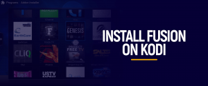 Install Fusion on Kodi