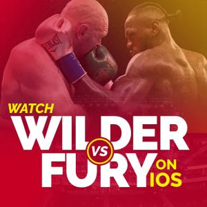 Watch wilder vs fury on ios