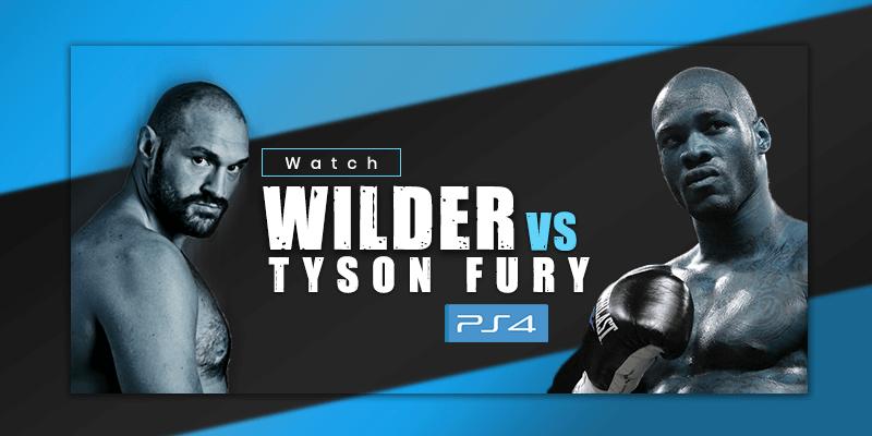 deontay wilder vs tyson fury on ps4