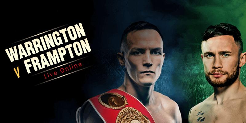 warrington vs carl frampton live online