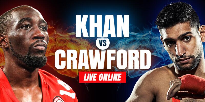 watch amir khan vs terence crawford live online