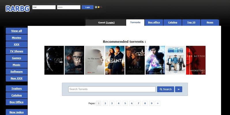 RARBG - Piratebay Alternatives