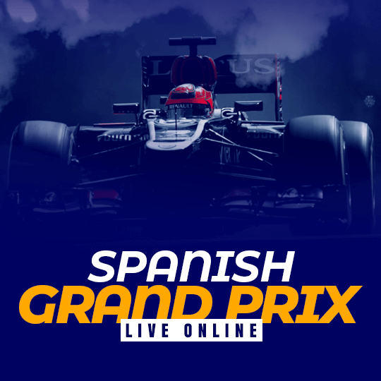 Spanish Grand Prix Live Online