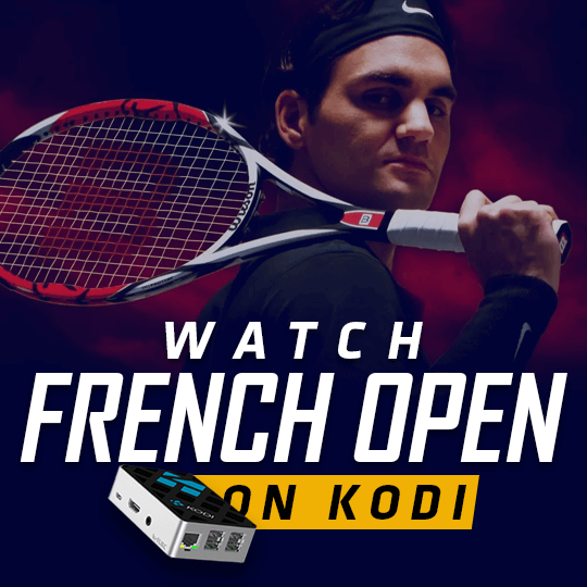 Watch French Open on Kodi