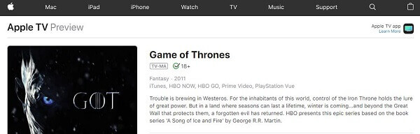 game of thrones season 8 live online on apple tv