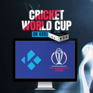Watch Cricket World Cup on Kodi