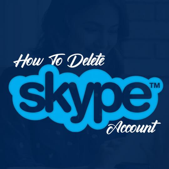 Deleting Skype