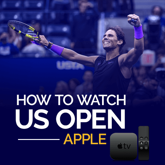Watch US Open on Apple