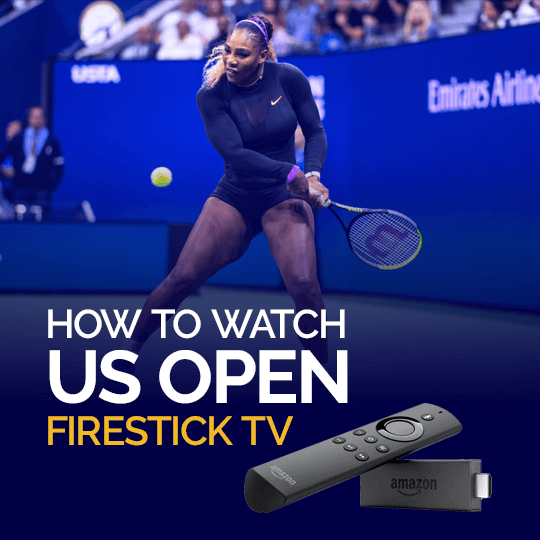 Watch Us Open on Firestick TV