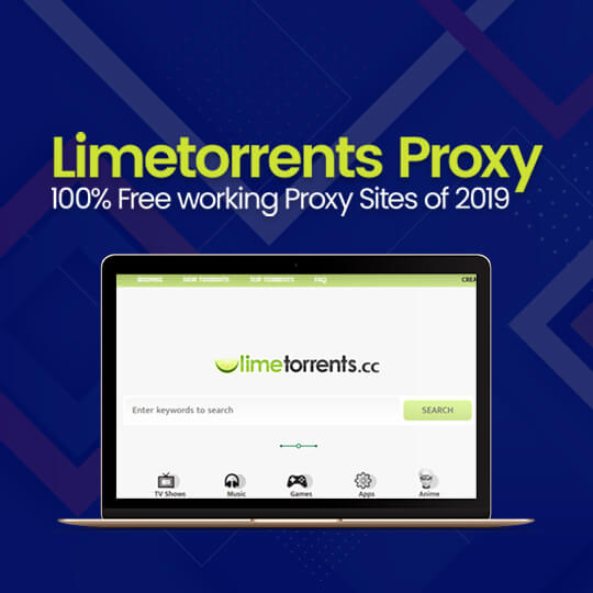 Limetorrents Proxy Sites