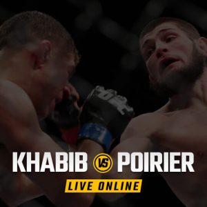 Watch Khabib vs Poirier Live Online