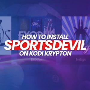Install SportsDevil On Kodi