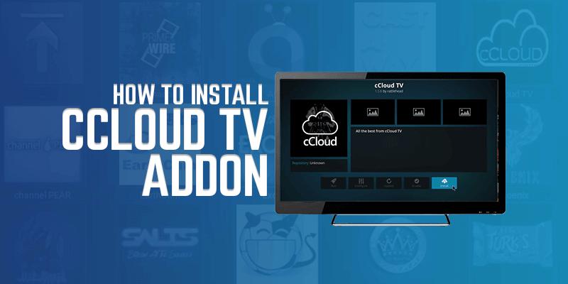 Install Ccloud TV Addon