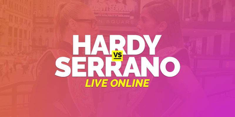 Watch Hardy vs Serrano Live Online