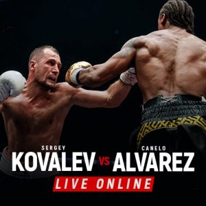Watch Kovalev vs Alvarez Live Online