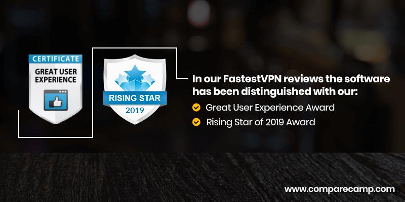 FastestVPN Rising Star Award