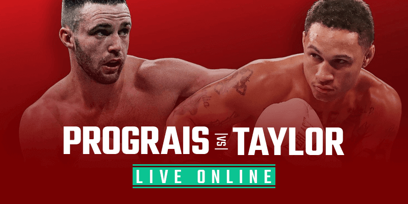Watch Prograis vs Taylor Live Online