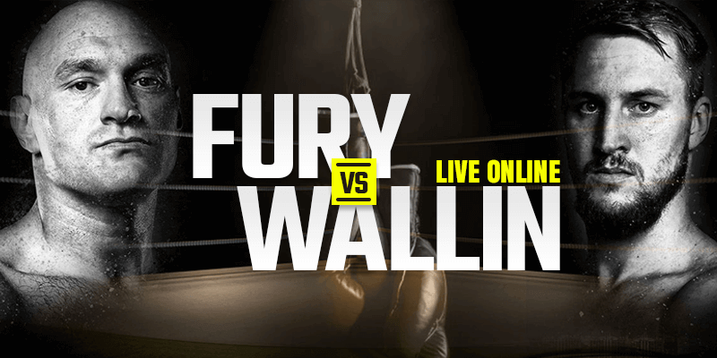 Watch Fury vs Wallin Live Online
