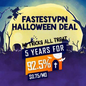 Halloween VPN Deal