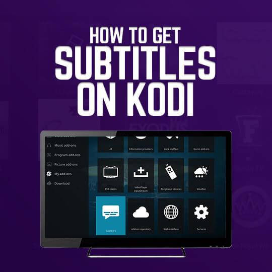 Kodi Subtitles