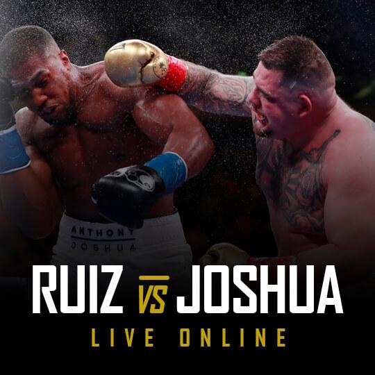 Watch Joshua vs Ruiz Live Online