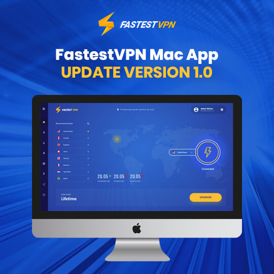 FastestVPN Mac App Update