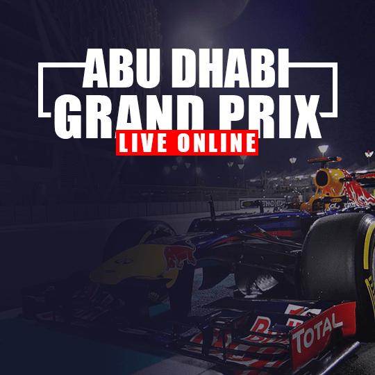 Abu Dhabi Grand Prix Live Online