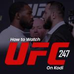 Watch UFC 247 On Kodi