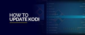 How to Update Kodi