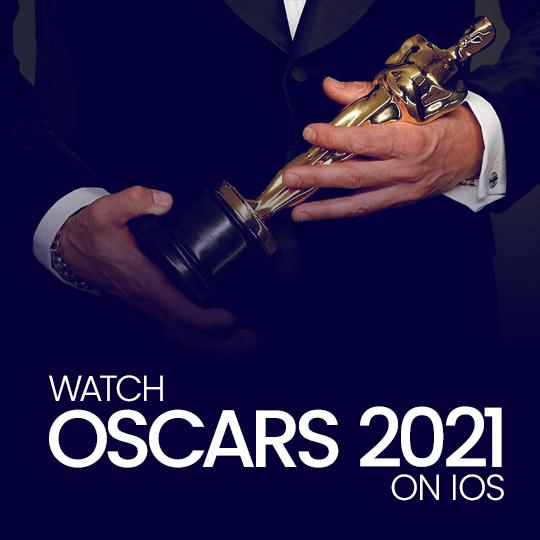 Watch Oscars 2021 on iOS