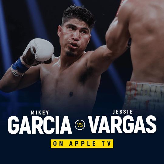 Watch Garcia vs Vargas on Apple TV