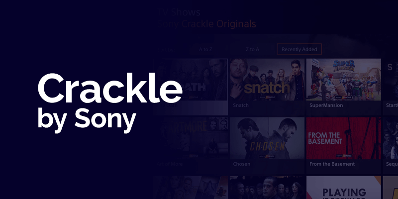 Crackle by Sony