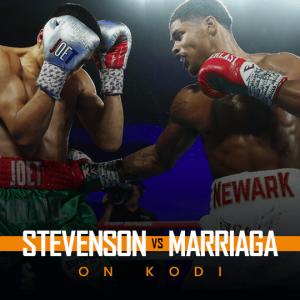 Watch Stevenson vs Marriaga on Kodi