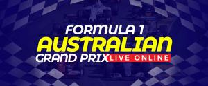 Watch Formula1 Australian GrandPrix Live Online