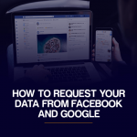 How to request data from facebook and google