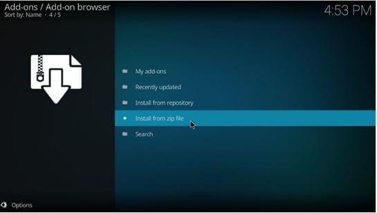 Kodi Addon Browser